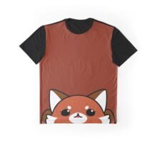 Red panda face Graphic T-Shirt