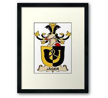 Jager Coat of Arms (Austrian) Framed Print
