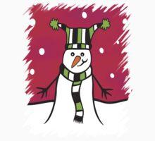 Festive Snowman Kids Clothes