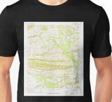 USGS TOPO Map Arkansas AR Menifee 259092 1961 24000 Unisex T-Shirt