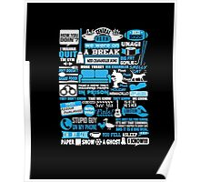 Central Perk. You fell asleep. I know Poster