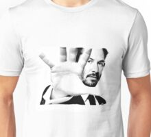 Keanu Reeves (Black and White) var2 Unisex T-Shirt