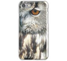 Owl Portrait iPhone Case/Skin