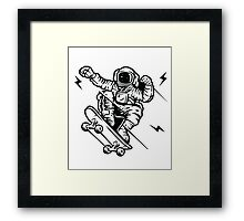 skate space Framed Print