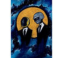 Daft Punk in Space Photographic Print