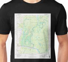 USGS TOPO Map Arkansas AR Henrico SW 258718 1967 24000 Unisex T-Shirt