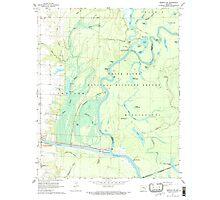 USGS TOPO Map Arkansas AR Henrico SW 258718 1967 24000 Photographic Print