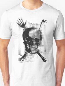 Wicked Skull with Bones T-Shirt