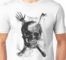 Wicked Skull with Bones Unisex T-Shirt