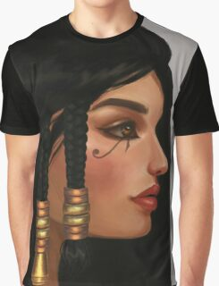 pharah portrait overwatch fanart Graphic T-Shirt