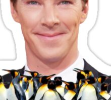 PENGWING Benedict Cumberbatch Penguins Sticker