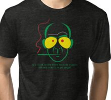 Gonzo Hunter S Thompson Fear and loathing in las vegas Tri-blend T-Shirt