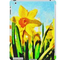 Daffodils By Morning Light iPad Case/Skin