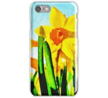 Daffodils By Morning Light iPhone Case/Skin