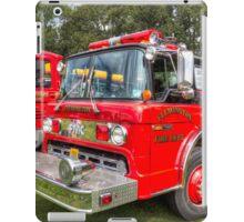 Flemington Fire Truck 49-62 iPad Case/Skin