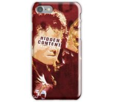 The king of Pop in concert iPhone Case/Skin