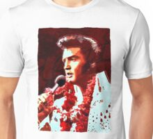The king of rock in concert Unisex T-Shirt
