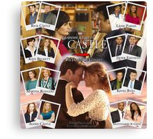 6 Years of Castle Canvas Print