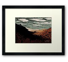 Phantom Horse Valley Framed Print
