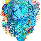 Fire Lion by Liviu Matei