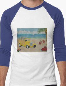 Beach Bash Men's Baseball ¾ T-Shirt