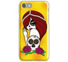 Sugar Skull Woman iPhone Case/Skin