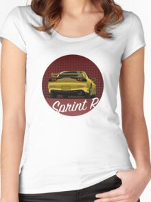 Mazda RX-7 Women's Fitted Scoop T-Shirt