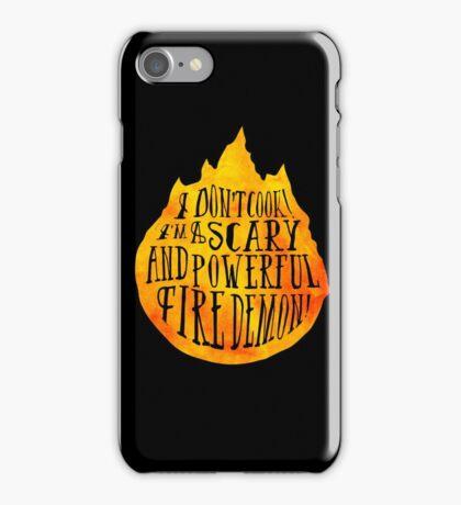 Fire Demon  iPhone Case/Skin