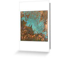 Marine Rust Copper Greeting Card