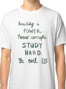 Procrastination motivation Classic T-Shirt