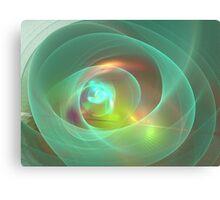 Sea Glass Orb Canvas Print