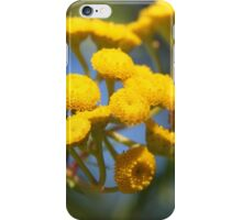 Yellow Tansy iPhone Case/Skin