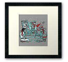 KameHameHa Training Framed Print