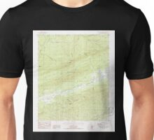 USGS TOPO Map Arkansas AR Freedom Mountain 258521 1985 24000 Unisex T-Shirt