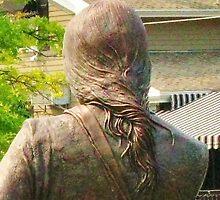 The Tuscarora Heroes Monument ~ Lewiston, NY: Detail by artwhiz47