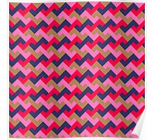 Z tiles pattern Poster