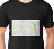 USGS TOPO Map Arkansas AR De Witt 260402 1986 100000 Unisex T-Shirt