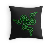 Razer logo Throw Pillow
