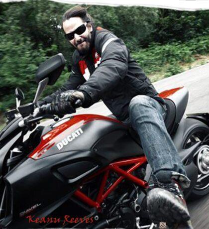 Ducati Rave (Keanu Reeves Bikes)  Sticker