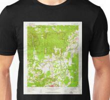 USGS TOPO Map Arkansas AR Caddo Valley 258103 1959 24000 Unisex T-Shirt
