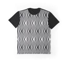 Black and white geometric pattern Graphic T-Shirt