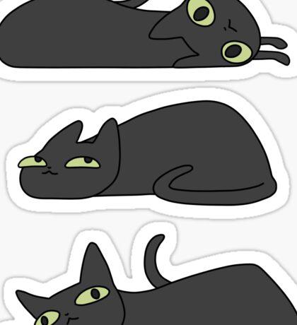 Lazy Cat Sticker Set Sticker