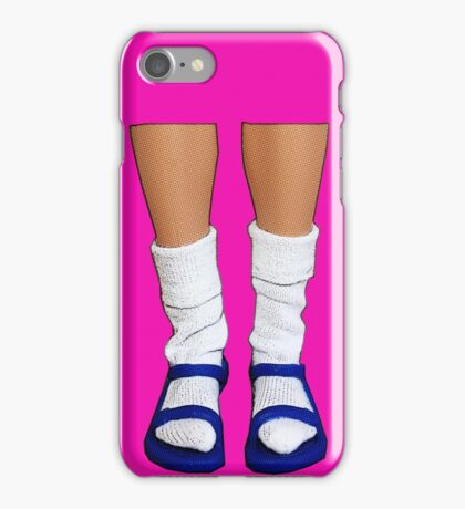 Socks & Sandals - Fashion Scandal! iPhone Case/Skin