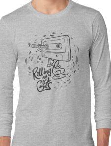 Rolling my guts white Long Sleeve T-Shirt