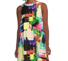 abstract colorful by hangaintan A-Line Dress