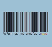 Bar Code One Piece - Short Sleeve