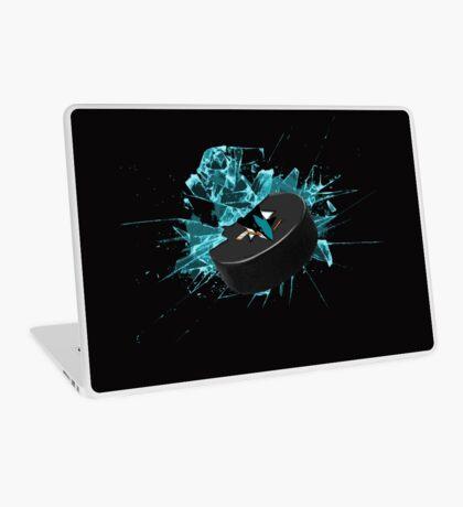 San Jose Sharks puck Laptop Skin