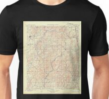 USGS TOPO Map Arkansas AR IT Tahlequah 521916 1901 125000 Unisex T-Shirt