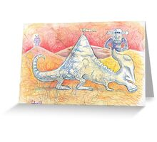 Desert of the Doodlebots Greeting Card