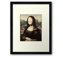 Mona Lisa ditto Framed Print
